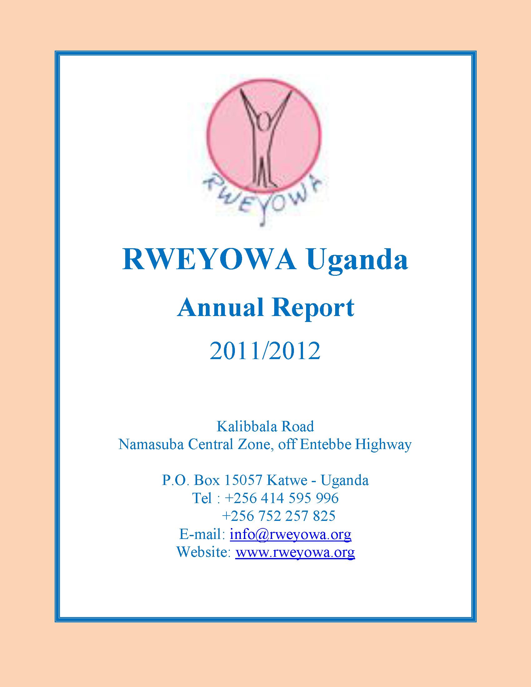 2011-2012 Annual Report 1