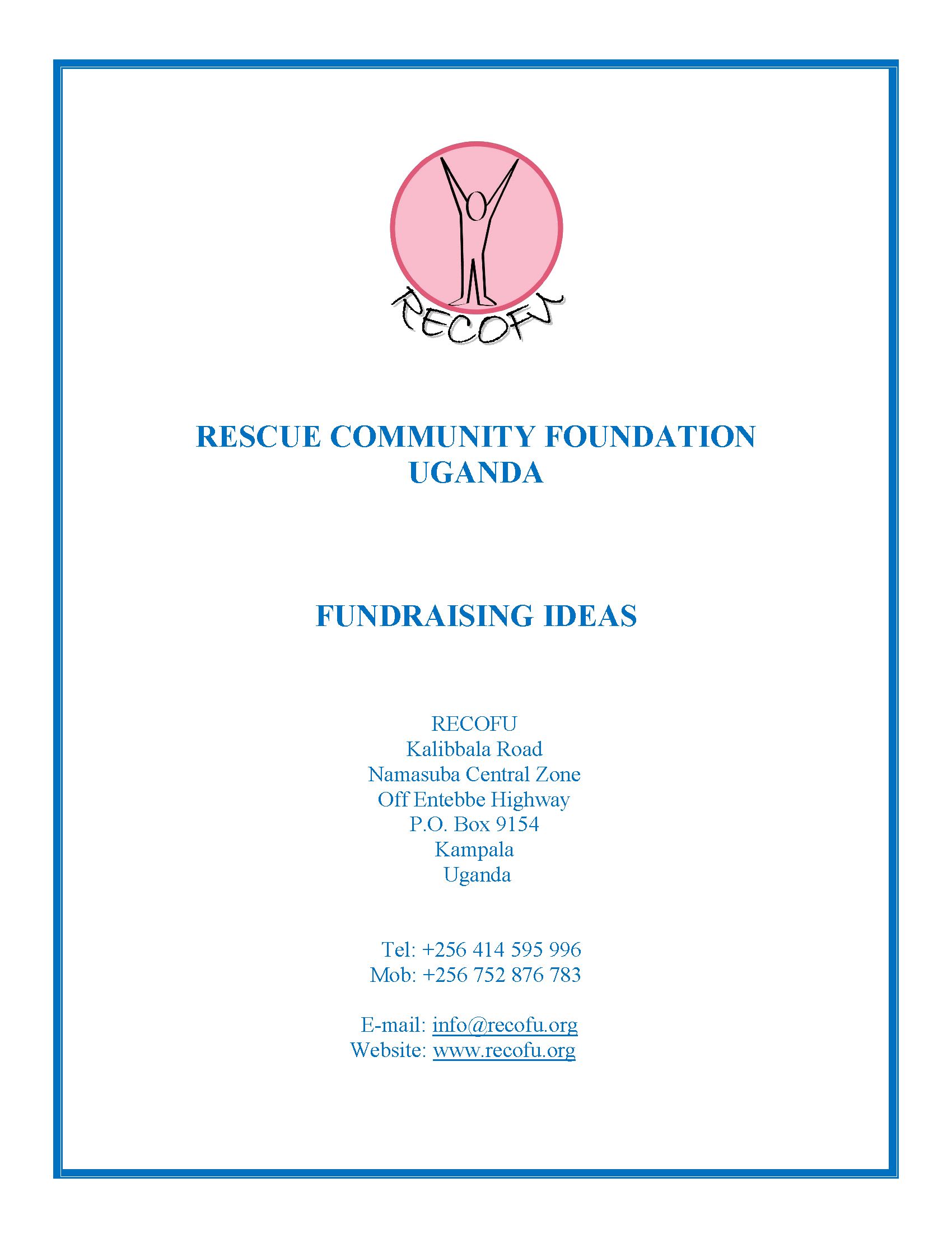 Fundraising Ideas 1